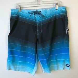 Billabong Fluid X Board shorts Swim 33 #610
